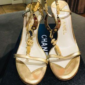 Chanel sandal heels